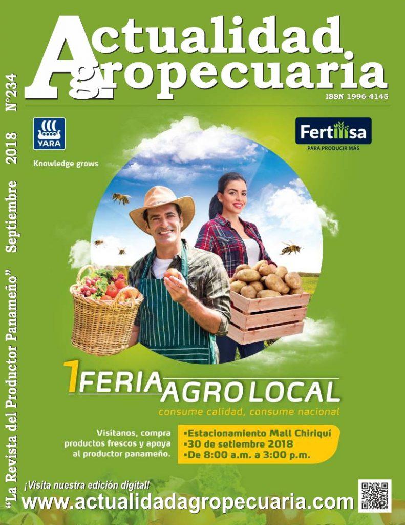 La Revista Actualidad Agropecuaria edición Septiembre 2018
