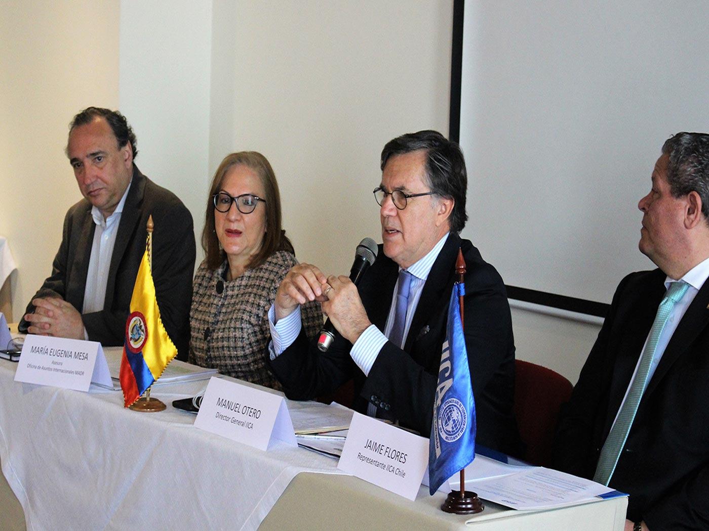 Líderes agroempresariales de Colombia, Chile, Ecuador, México y Perú debaten oportunidades y respaldan creación de foro subregional de ministros de Agricultura