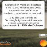 El Radicle Carbon and Soil Challenge por UPL ha iniciado la búsqueda e invertirá más de 1 millón de dólares en Start-ups ganadoras en Tecnología Agrícola y Alimentaria